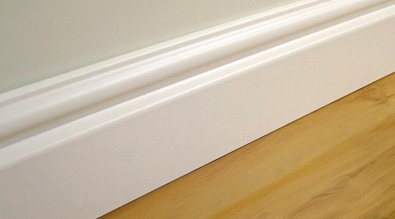 Plastic Skirting Boards available - Strong, Durable and a Variety of Styles
