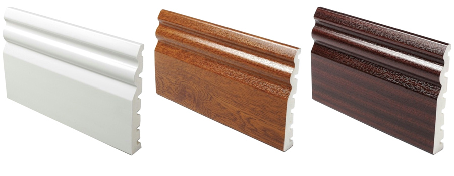 125mm PVCu Skirting Boards - Easy to fit, Strong and Durable - Discount Skirting Boards in Worksop
