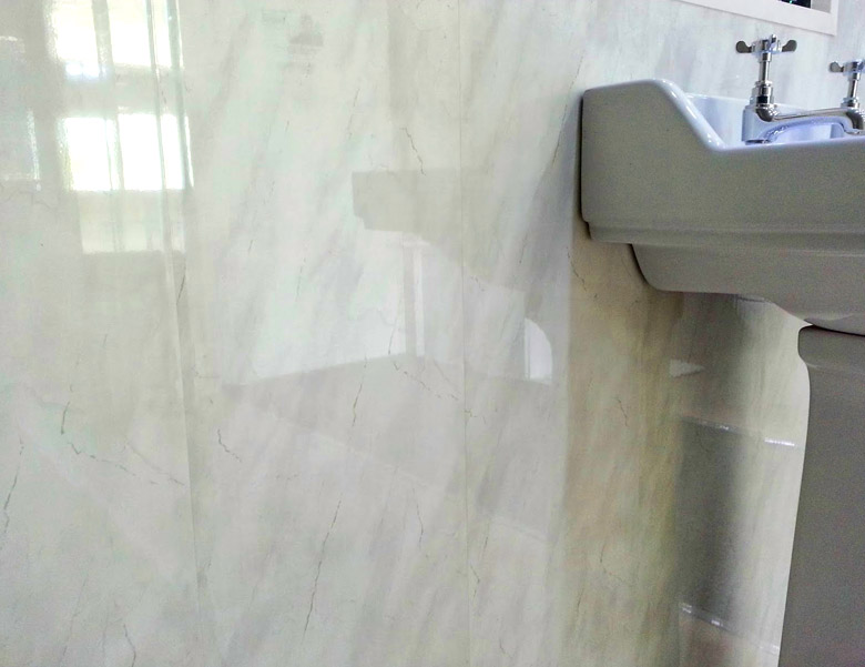 Discount Plastic Wall Panelling - Decorative Finish and Choice of Colours / Styles