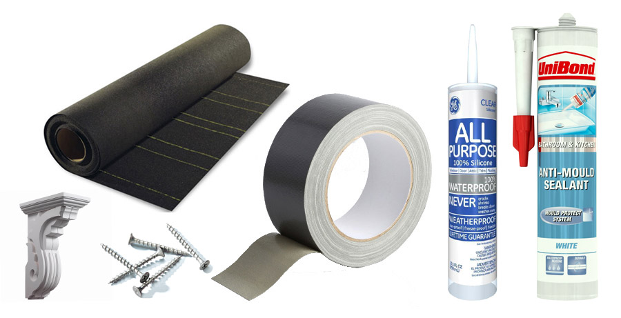 A huge array Discount Fascia and Window Supplies – too many to mention / Worksop