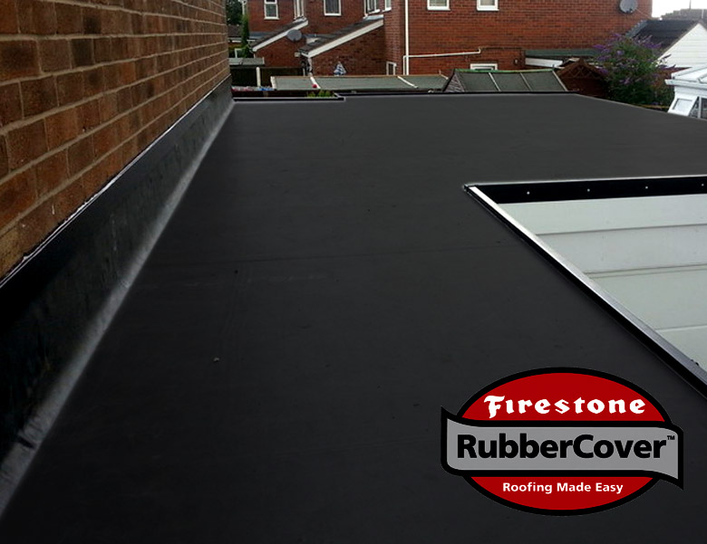 Firestone Rubber Roofing- Rubber Cover EPDM Easy to install. No flame. No trouble.