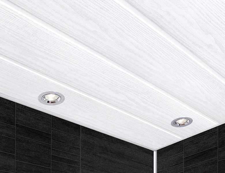 Plastic Decorative Ceiling Panelling for Bathrooms and Kitchens in Worksop and Retford