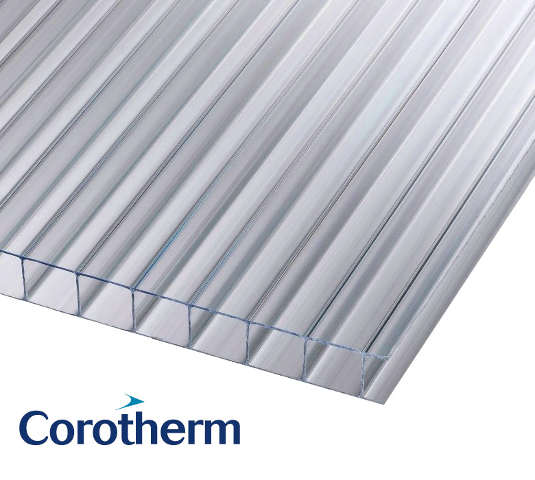 Corotherm Polycarbonate Insulated Roofing Sheets - Discounted Prices in Worksop